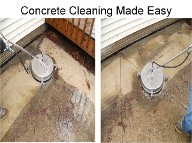 Professional concrete cleaning and sealing pws for Concrete cleaning service